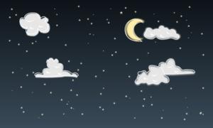 moon beam journey to the stars
