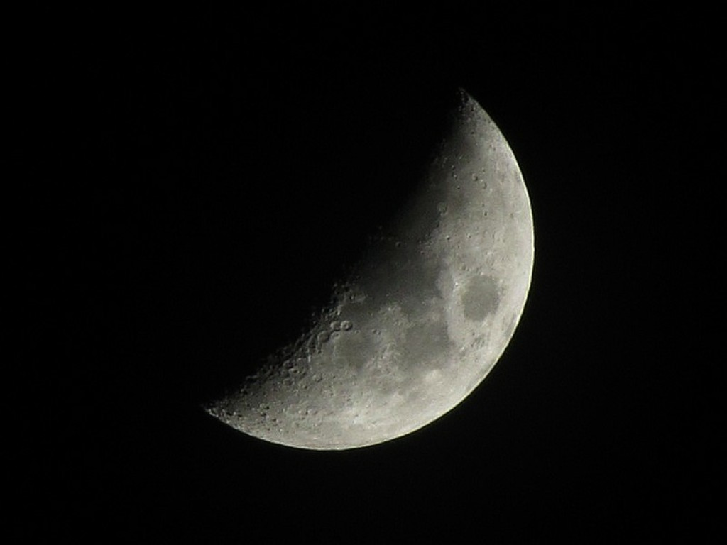 waxing crescent moon journey to the stars