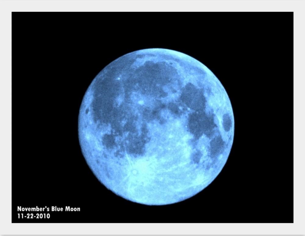My Blue-ish Moon!