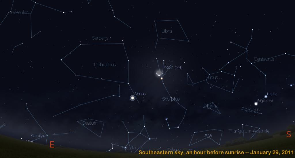 planet saturn location in sky - photo #33