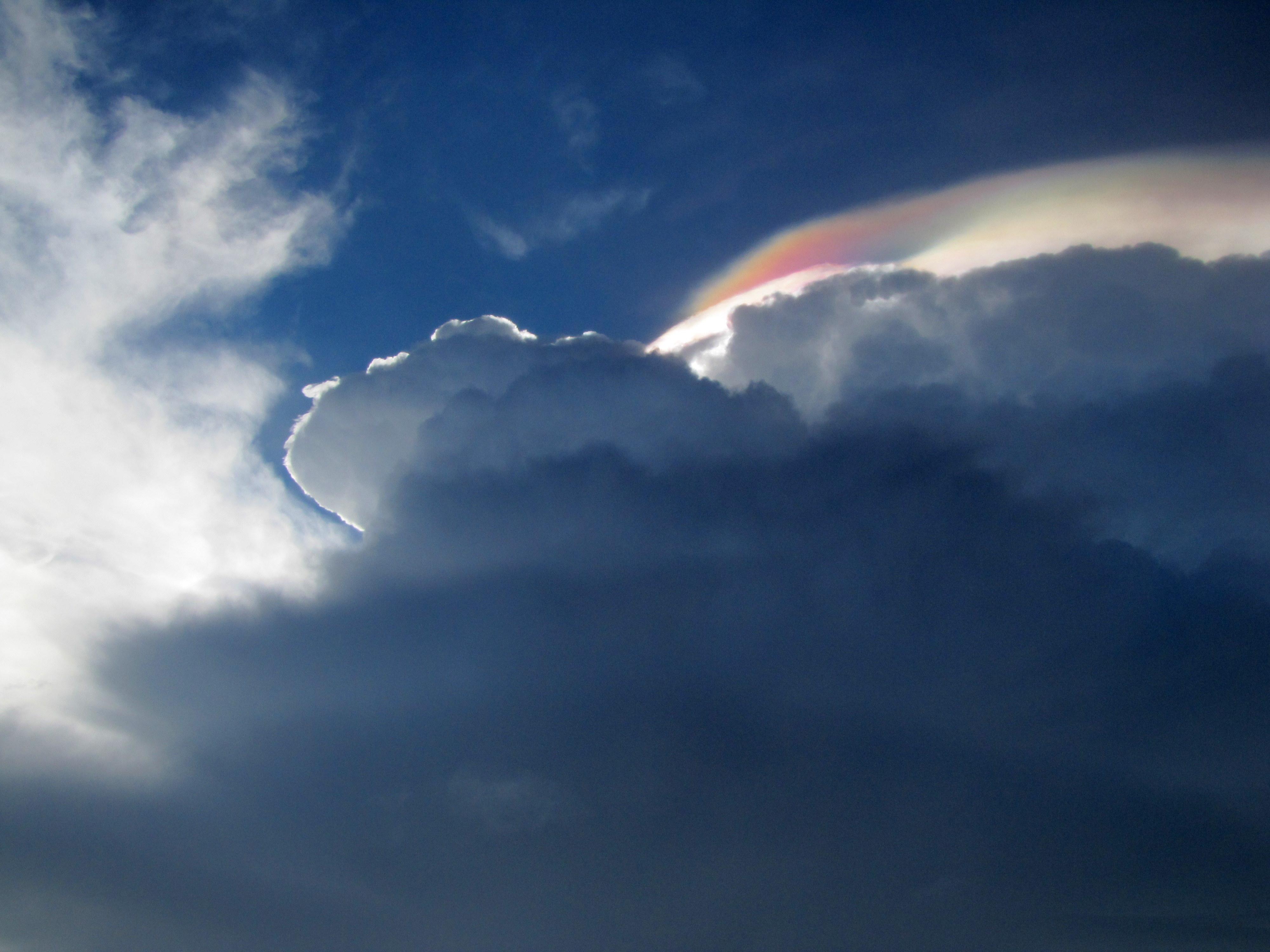 Iridescent Clouds Florida Photos an Iridescent Cloud