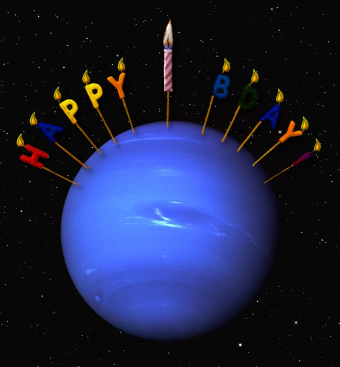 Happy Birthday Neptune! | Journey to the Stars