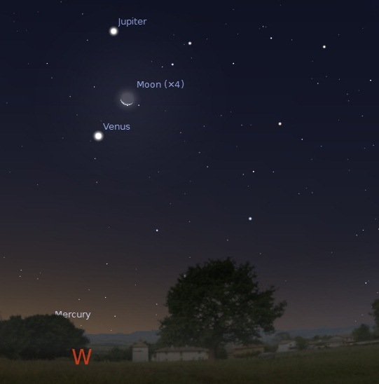 Notable Celestial Events in 2012 (1/6)