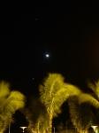 Venus, Jupiter and the Crescent Moon