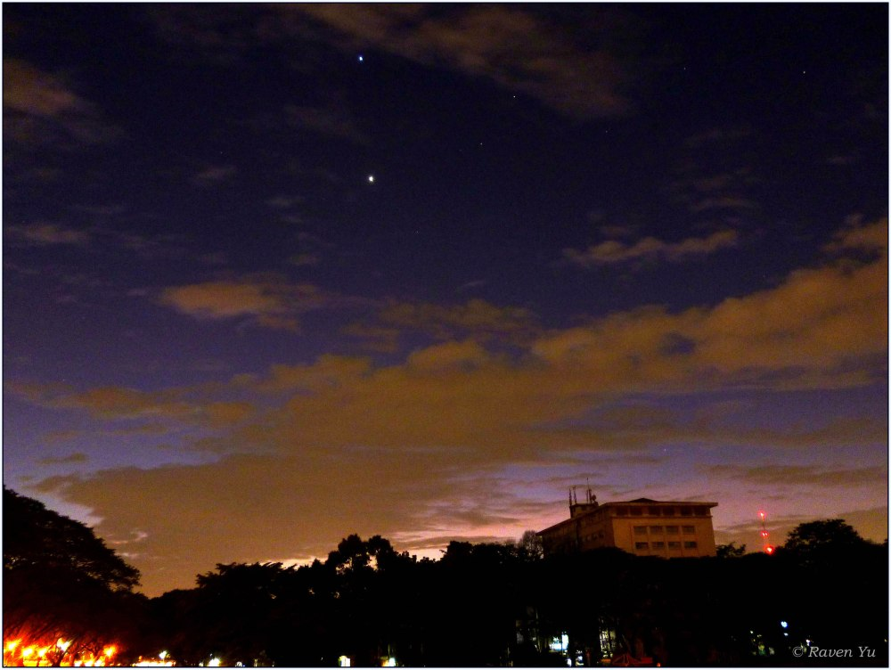 Closest Encounter of Venus and Jupiter in 2012 (1/3)