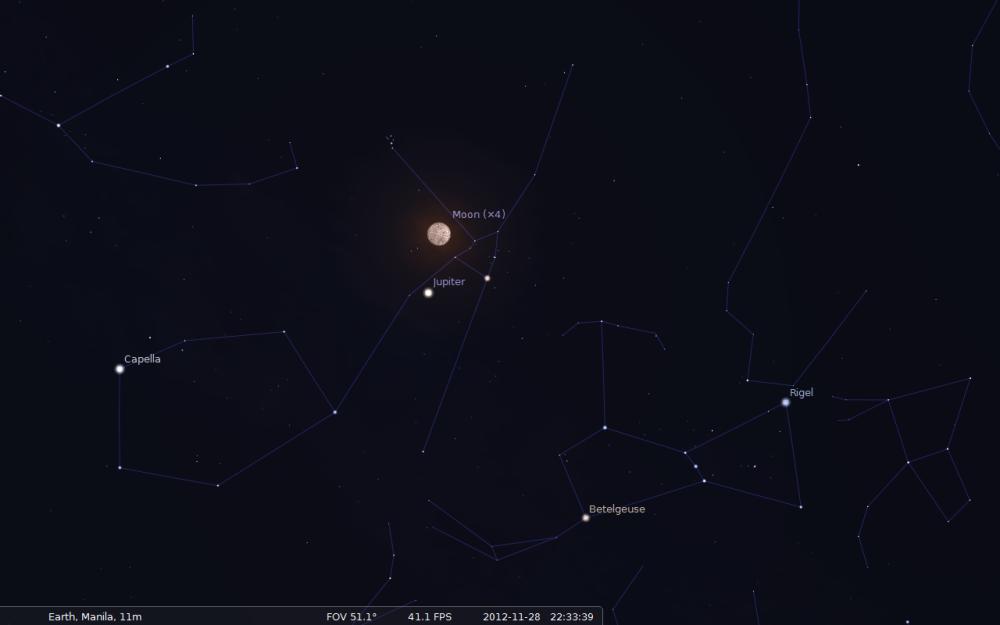 November 28, 2012 Penumbral Lunar Eclipse (3/3)