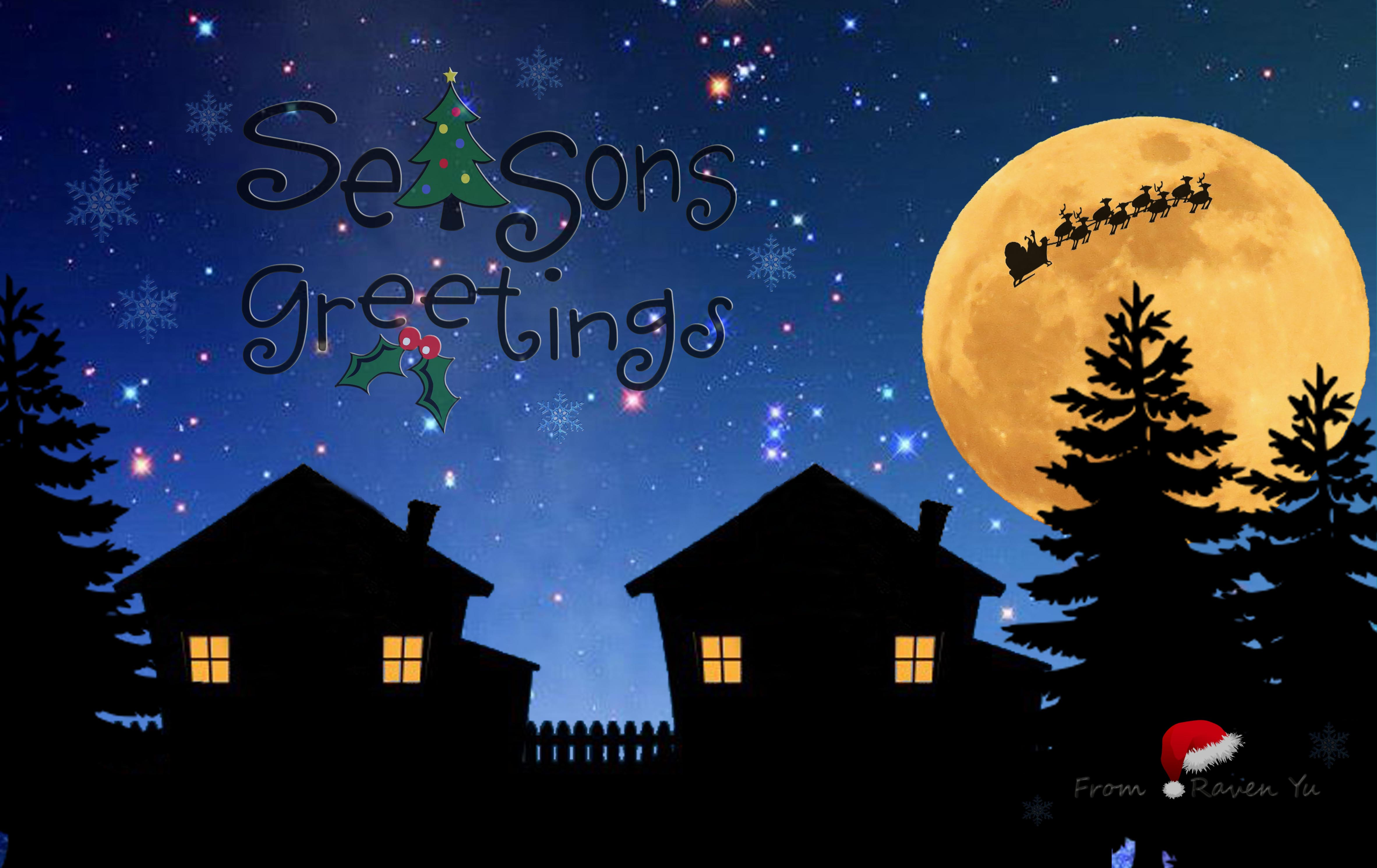 Seasons Greetings Seasons greetings