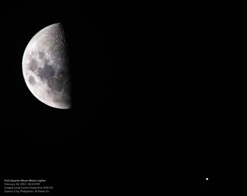 moon and jupiter- feb 18