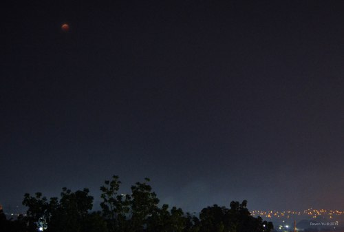 'Blood Moon' over Rodriguez, Rizal